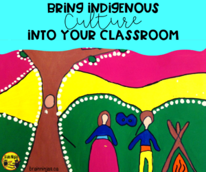 Bring Indigenous culture into your classroom on a regular basis by studying different artists of Canada. #artlessons #indigenousartists #canadianartists