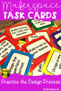 This set of exploration tasks makes creating in the classroom easy and fun. These simple tasks use everyday materials are designed to get your creative juices flowing. #makerspace #classroomfun