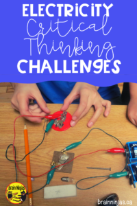 Encourage your students to show you what they have learned about electricity with these six open-ended problem solving challenges for mechanisms that use electricity. It's STEM for your science unit!