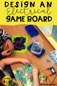 Challenge your students to show you what they have learned about electricity by creating a game board that checks the answers to trivia questions using an electrical circuit. Students absolutely love creating their game boards!