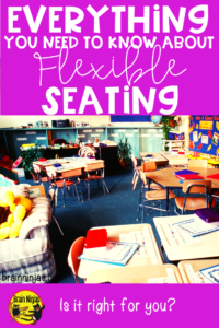 Do you want to try flexible seating, but need some real tips on how to get started? Check out this post.