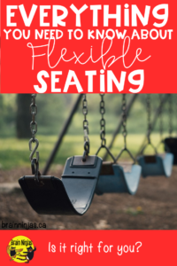 Does your school use flexible seating, but you don't know what you're doing? Calm the disaster with these tips.
