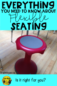 Flexible seating isn't for everyone, but check out these tips to see if they can help you.