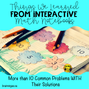 Are you avoiding interactive math notebooks because they seem like too much work? Never fear! We have the solutions!