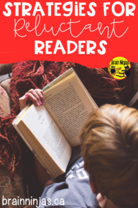 Check out these strategies for reluctant readers so you can get all of your students reading!
