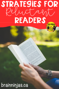 Check out these step-by-step effective strategies for reluctant readers so you can get all of your students reading! #teachingreading