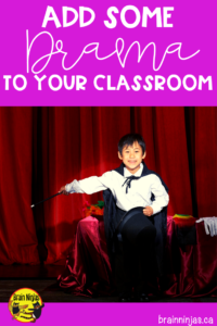 Add some drama to your classroom to bring your lessons to life. Check out these practical ways to spice up lessons with dramatic flair for your students. #dramalessons