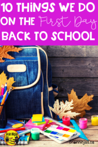 Use our step by step guide to get you through the first day of school with your new students. Our biggest piece of advice: keep it simple! Come check out the rest at brainninjas.ca #back2school #backtoschool