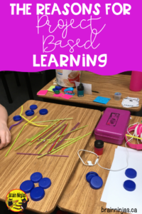 Do you want to try project based learning in your classroom, but you aren't sure where to start? Check out this post that helps you get started with some simple to use ways. And sign up for our email list where we send you all kinds of tricks-including unlimited access to our free Resource Library. #pbl #projectbasedlearning
