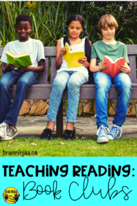 Book clubs are a great way to spice up your reading instruction. This step by step guide will get your clubs up and running. Be sure to read it! #teachingreading #bookclubs