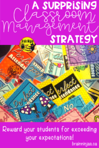 Are you looking for a classroom management system for your upper elementary classroom? Check out these ideas! #tradingcards #classroommanagement