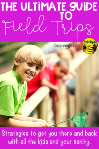 Fields trips are a great way to extend learning beyond your classroom, but they take some planning and organization. Check out this post jammed packed full of ideas to help you get the most out of your day. #fieldtrip
