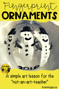 Create adorable ornaments that use simple materials. These Christmas ornaments can be shared with friends and family. #christmascrafts #christmasornaments