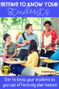 Getting to know your new students is one of the best parts of a new school year! Get some tips on how and why getting to know your students is so important to differentiated instruction! #backtoschool #differentiatedinstruction
