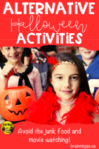 Are you looking for something to do with your students around Halloween that doesn't involve eating junk food and watching movies? Check out this great list! #halloweenactivities