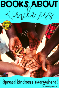 This is a great list of kindness books you can use in your classroom (even an upper elementary classroom) all year round. #kindness