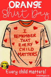Orange Shirt Day is recognized each year on September 30. We have searched out some student friendly resources teachers can use in their classrooms to teach students about Residential Schools because Every Child Matters. #orangeshirtday