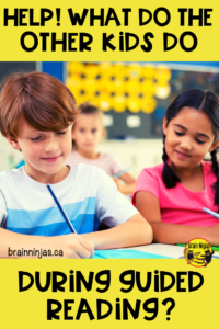 Are you trying to teach small groups at a table when there are non-stop interruptions? Get some practical tips on how to get the other kids working while you teach. It can be done and we want to help. Click to read more! #guidedreading