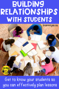Are you struggling with classroom management? Take the time to build relationships with your students.  Read for practical ways to start the year off right.