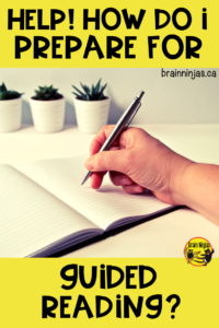 Guided Reading is as much organization and planning as it is about teaching reading. Get yourself organized with these tips that will get you ready for the whole year. #teachingreading #guidedreading