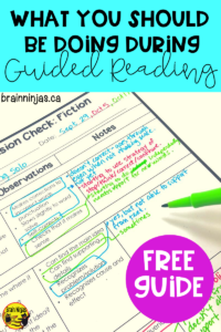 Get a free comprehension check that you can use in your ongoing Guided Reading instruction and assessment. #guidedreading #teachingreading #readinginstruction