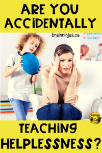 Are you accidentally sabotaging student learning by helping them too much? Check out these reflective practices to help your students without teaching them to be helpless. #growthmindset