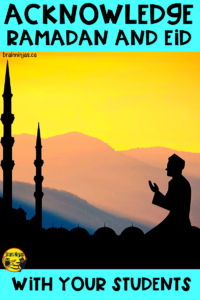What do you do in your classroom to acknowledge Ramadan and Eid with your Muslim students? Looking for ideas? Check out these simple ideas that will have a big impact.