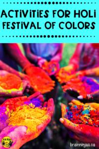 If you're looking to teach your students about Holi, the Fesitval of Colors, you need to check out these ideas that include books, reading passages and art projects you can do easily and without too much mess in your classroom.