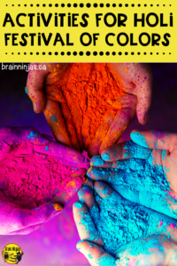 If you're looking to teach your students about Holi, the Fesitval of Colors, check out these ideas that include books, reading passages and art projects you can do easily and without too much mess in your classroom.