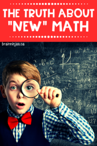 What is new math and why does everyone keep talking about it? Here is what we tell parents about new math (spoiler alert-math isn't new). Get some practical tips for debunking the myths.