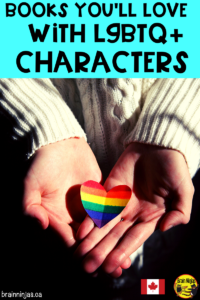 Are you looking for books that equally represent the different members of the LGTBQ+ community? Check out this great list of books you should have in your classroom or school library. Representation matters!