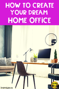Are you need of a home office space? Teachers have a lot of stuff so here are some things you should consider if you're just starting out.