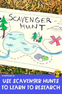 Give your students meaningful practice doing research by completing scavenger hunts. They're fun and serve a purpose. Come find out how we use them in our classroom.