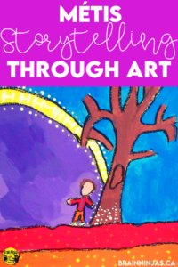 If you are looking for a great art lesson for painting that explores Indigenous art lessons, you should try this one out. Lots of suggestions on how to use your art once you're done is included too.