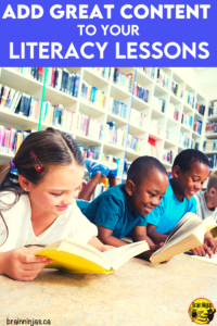 There are so many things to teach and just not enough time for it all. We started using content from science and social studies to teach grammar and reading comprehension. Game changer! Come find out what we did and how we did it in our upper elementary classroom (even during distance teaching).