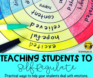 Teach your students to self-regulate and manage their emotions with these activities. Managing feelings is just one part, but there are lessons and activities included in this post!