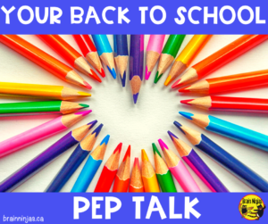 You look like you could use a laugh or a cry or both. Here is your back to school pep talk. Let's get you on the right track for back to school with some inspirational teacher stories. We love you!