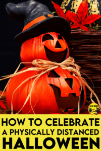 Are you looking for ways to celebrate Halloween, but have to be socially distanced or have other related restrictions? Come check out this list of things we gathered to celebrate Halloween safely this year with your upper elementary students.