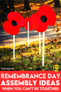 Are you trying to plan a Remembrance Day assembly around social distancing requirements? We came up with a way to have your ceremony. Come read our list of safe and simple Remembrance Day ideas.