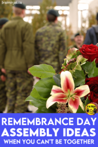 Are you trying to plan a Remembrance Day assembly around social distancing requirements? We came up with a way to have your ceremony. Come see our list of safe and simple Remembrance Day ideas.
