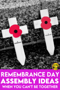 Are you trying to plan a Remembrance Day assembly around social distancing requirements? We came up with a way to have your ceremony. Come see if anything on our list of safe and simple Remembrance Day ideas can work for you.
