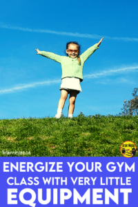 Do you have to teach physical education with safety restrictions? Maybe you're trying to teach gym online through distance teaching? PE is important so we've collected some ideas for activities you can do with your upper elementary class that don't require much equipment. Come check it out.