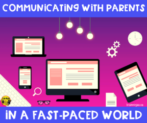 How is going with the family members of your students? Do you need some help with communicating with parents? We've collected a whole list of ideas on how to keep parents, guardians or the grown ups at home informed and keep communication flowing in a positive direction.