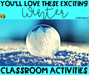 Come see some of the winter classroom activities we do all winter long (and it's always long up here in Canada). We got winter themed math and language arts. Of course we haven't forgotten about going outside for winter activities and winter lessons. We've even included some winter art projects and a digital escape. You can have so much fun during the winter in your upper elementary classroom.