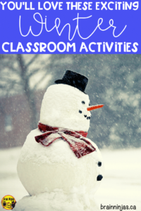 Come see some of the winter classroom activities we do all winter long (and it's always long up here in Canada) in our grade 4 and grade 5 classroom. We got winter themed math and language arts. Of course we haven't forgotten about going outside for winter activities and winter lessons. We've even included some winter art projects and a digital escape. You can have so much fun during the winter in your upper elementary classroom.