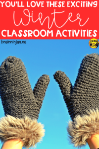 Come see some of the winter classroom activities we do all winter long (and it's always long up here in Canada). We got winter themed math and language arts. Of course we haven't forgotten about going outside for winter activities and winter lessons. We've even included some winter art projects, a digital escape and even some winter logic puzzles. You can have so much fun during the winter in your upper elementary classroom.