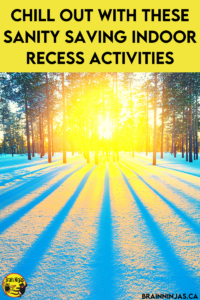 Sometimes the cold weather prevents us from going outside for recess. If you're stuck inside for indoor recess, we've collected a whole list of indoor recess activities that will work even if your students have to socially distance. Come read the blog and grab a few activities for your classroom.