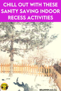 Sometimes the winter weather prevents us from going outside for recess. If you're stuck inside for indoor recess, we've collected a whole list of indoor recess activities that will work even if your students have to socially distance. Come read the blog and grab a few activities for your classroom.