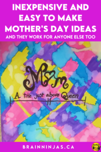 Are you looking for easy to make and inexpensive projects for Mother's Day (or Father's Day or Grandparents Day or basically anyone appreciation day)? As upper elementary teachers, this event usually gets overlooked so we came up with a list of some tried and true gifts we made over the years. Come find one of these gift ideas to use with your class!