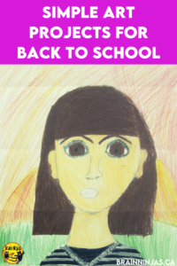Are you looking for some amazing back to school art projects? You can grab the directions for this one on our site. Come check out these great art projects perfect for the first day of school.